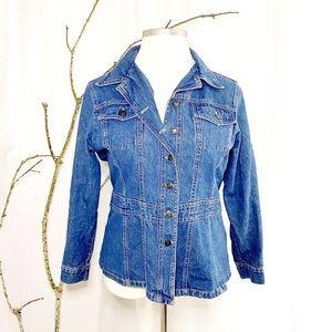 Swak Jeans Button Front Jean Jacket 18/20W